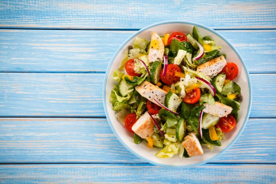 Amazing With Greek Salad With Chicken Calories
